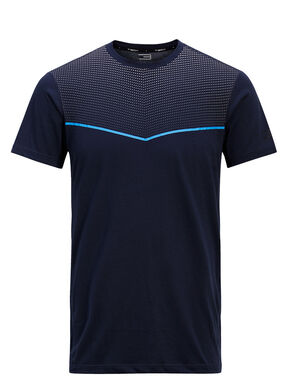 PLAIN SLIM FIT SPORTS T-SHIRT