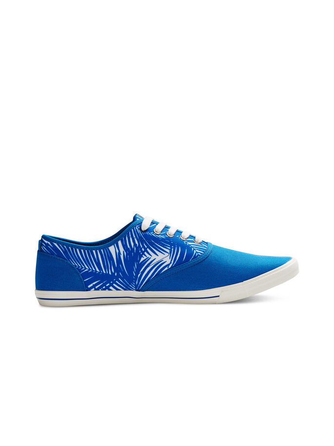 CANVAS SNEAKERS, Imperial Blue, large