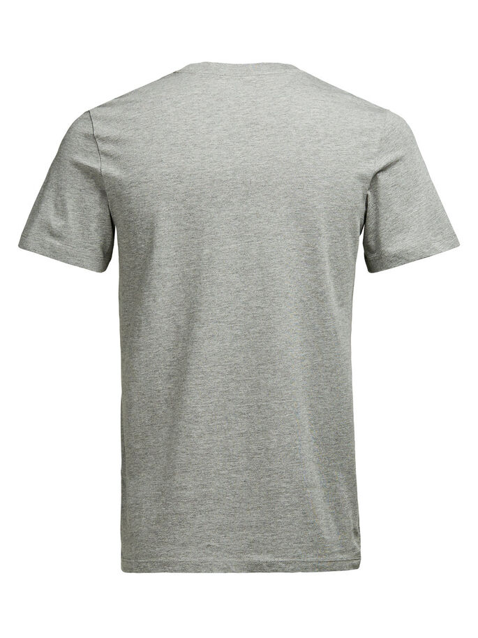 GRAPHIC T-SHIRT, Light Grey Melange, large
