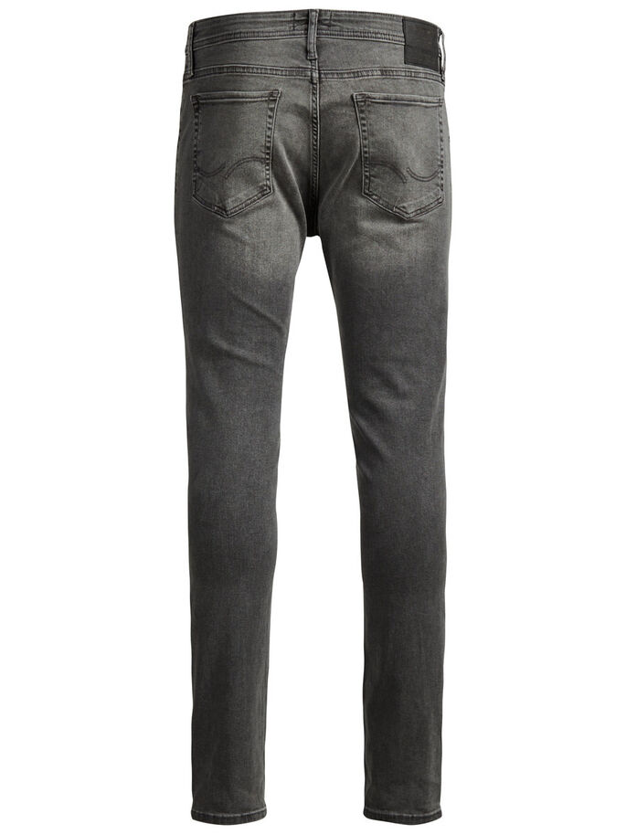 LIAM ORIGINAL AM 010 SKINNY FIT JEANS, Grey Denim, large