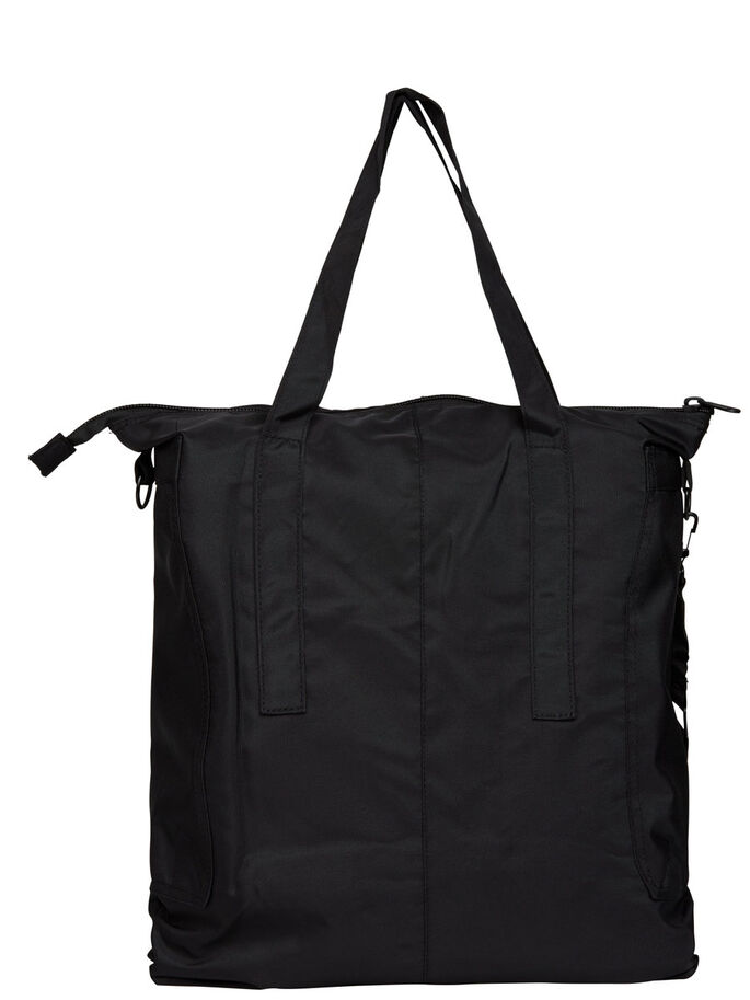 TOTE BAG, Black, large