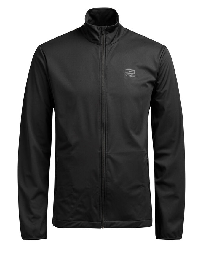 FUNKTIONELL SOFTSHELL-SYDD JACKA, Black, large