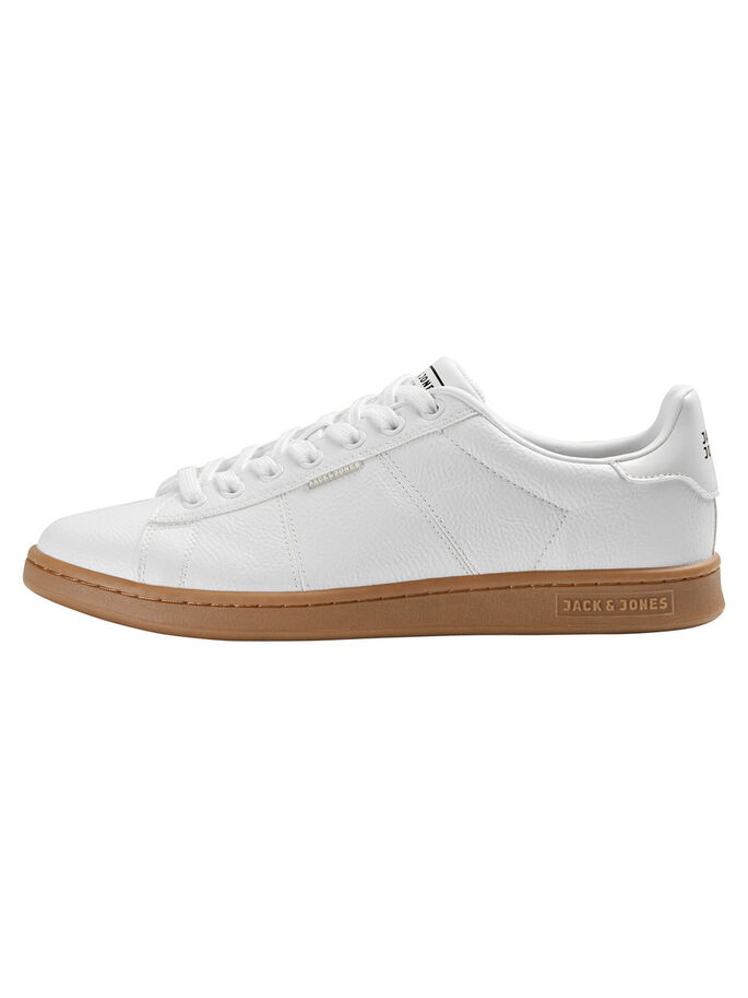 GUMMISÅL SNEAKERS, Bright White, large