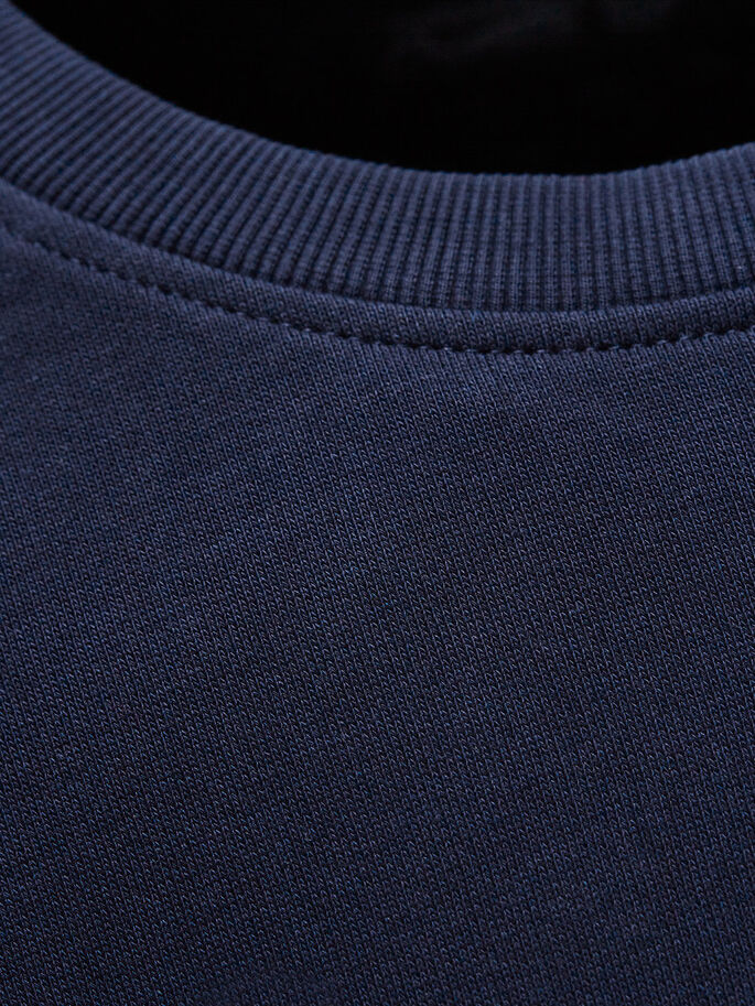 LÄSSIGES SWEATSHIRT, Navy Blazer, large