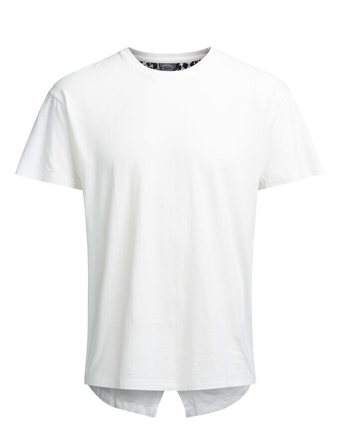LÆNGERE FIT T-SHIRT, Cloud Dancer, large