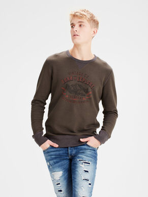 BORSTPRINT SWEATSHIRT
