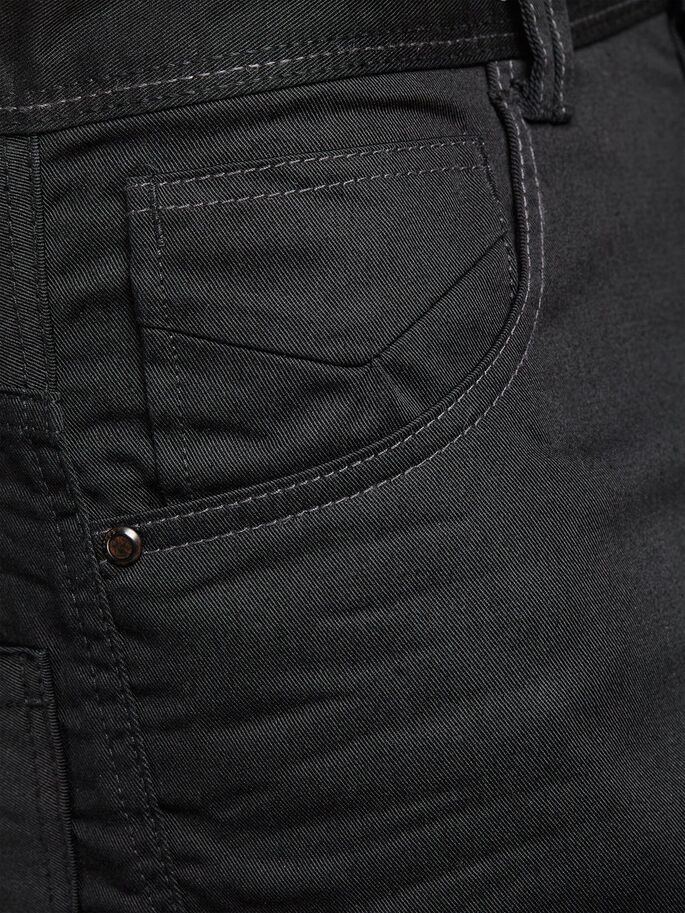 ANTI FIT CHINO, Black, large