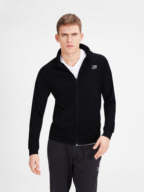 ZIP TURTLENECK SWEATSHIRT