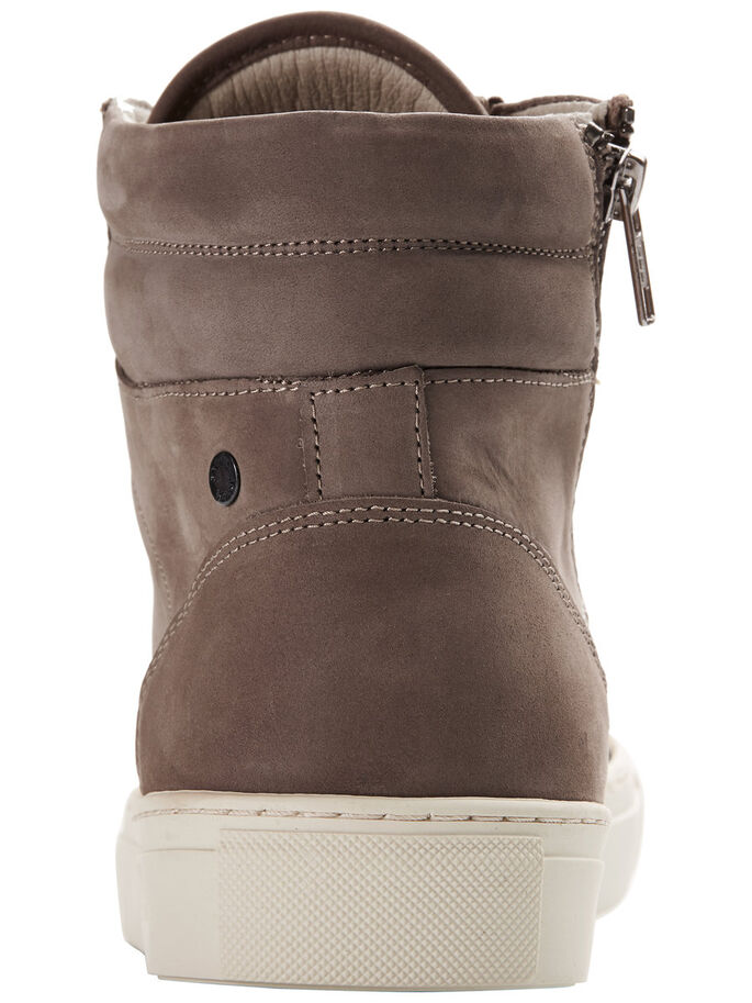 HIGH-TOP SKOR, Taupe Gray, large