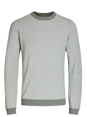 TO-TONET STRIKKET PULLOVER