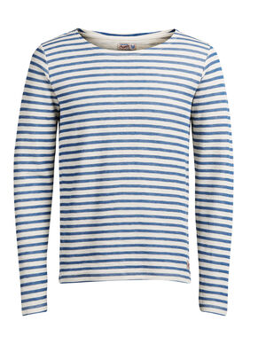KLASSISK STRIBET SWEATSHIRT