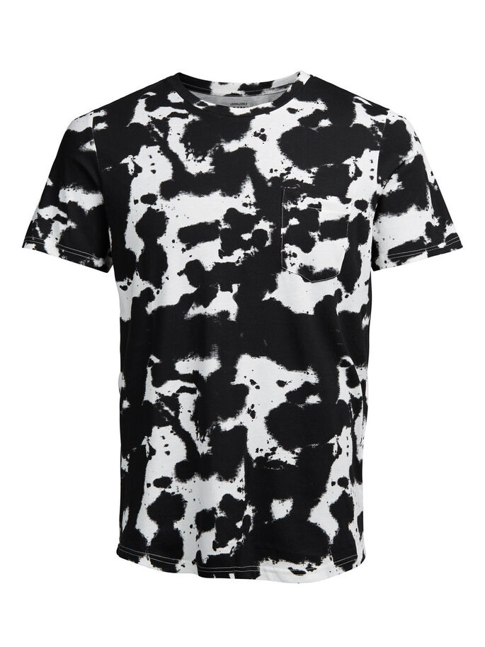 PRINT T-SHIRT, Cloud Dancer, large