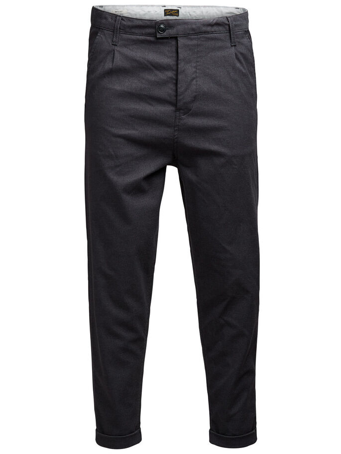 ROBERT JJ 970 CHINO, Dark Grey, large