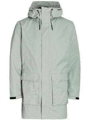 GRAPHIC EFFECT RAIN JACKET