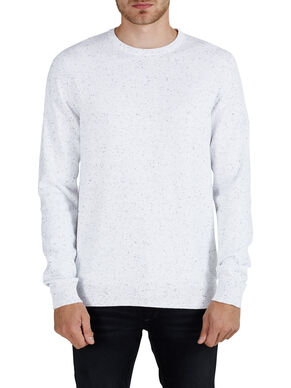 FLECKED KNITTED PULLOVER