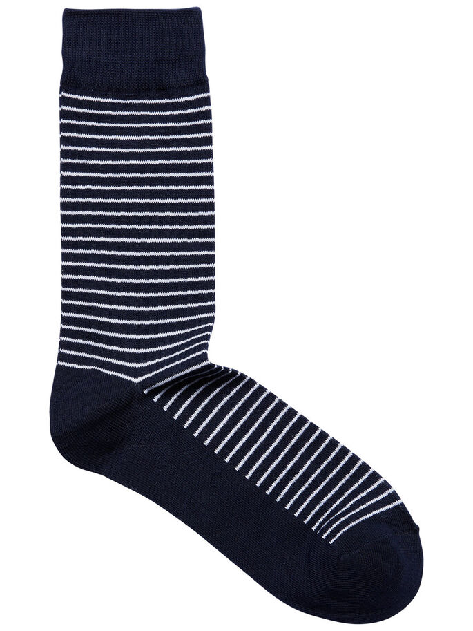 CLASSIC 4-PACK SOCKS, Navy Blazer, large