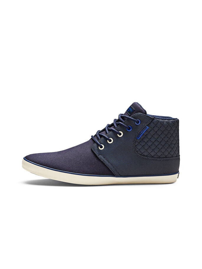 HIGH TOP TRAINERS, Navy Blazer, large