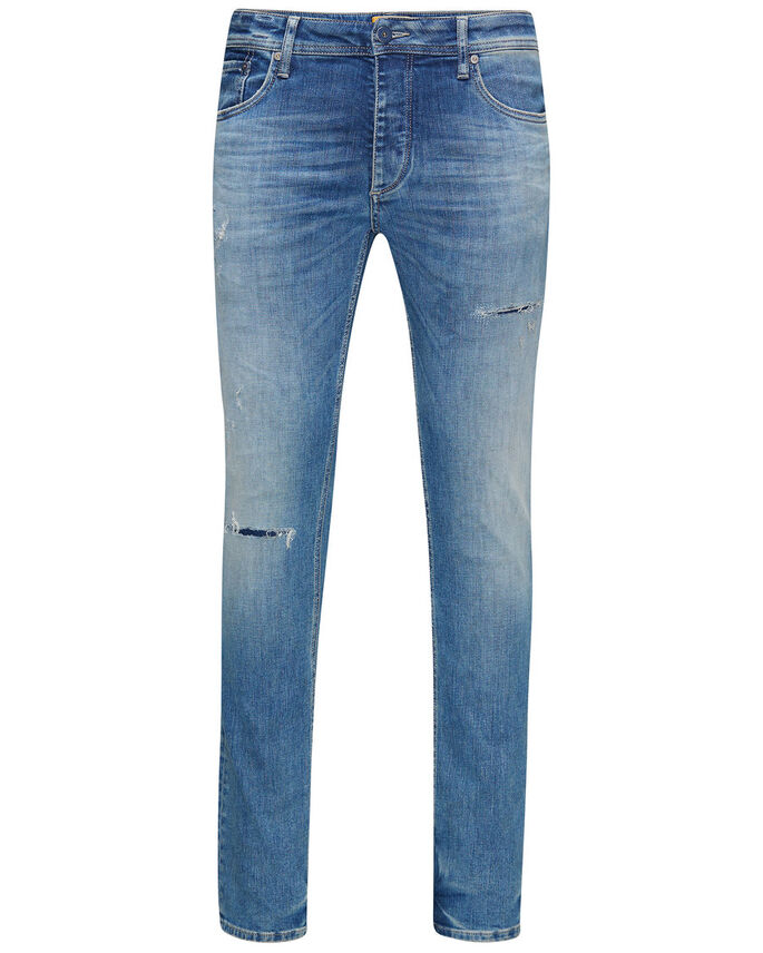 TIM ORIGINAL JJ 925 SLIM FIT JEANS, Blue Denim, large