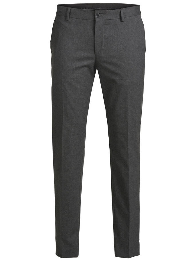 CLASSIC TROUSERS, Dark Grey, large