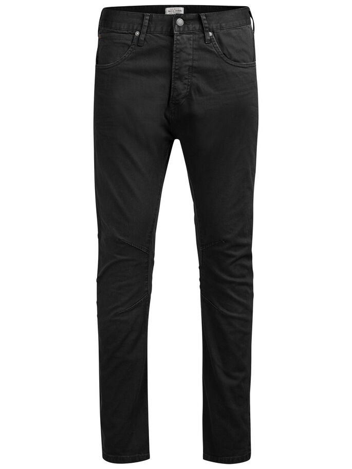 LUKE JOS 999 ANTI-FIT TROUSERS, Black, large