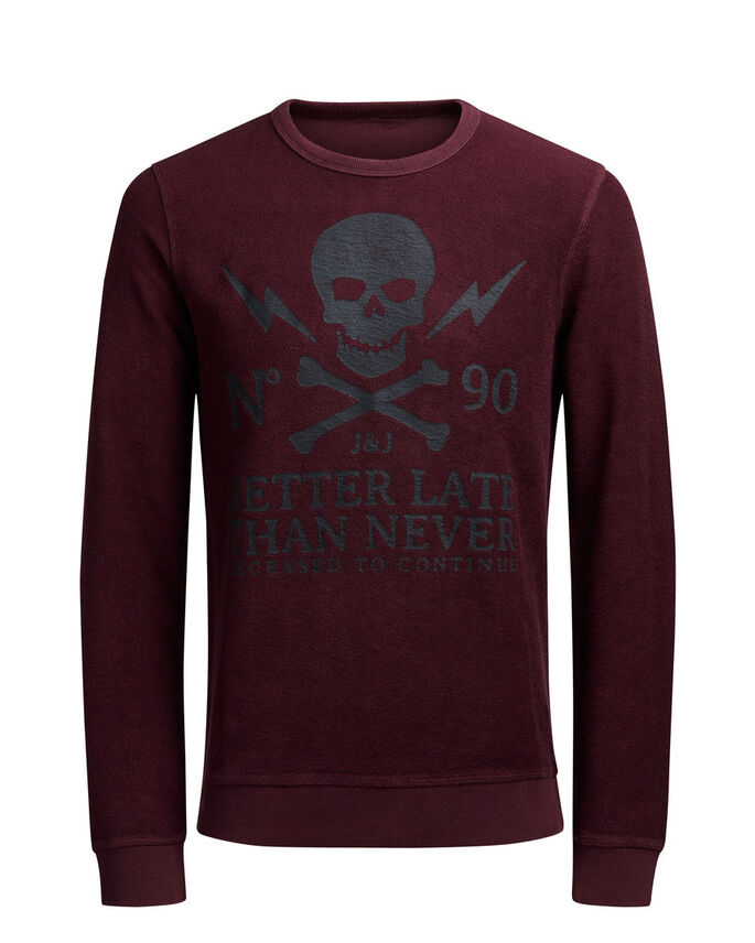 REVERSED SWEATSHIRT, Port Royale, large