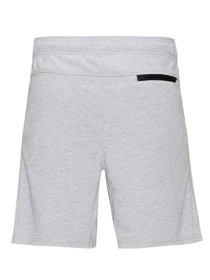 SWEAT SWEATSHORTS, Light Grey Melange, large