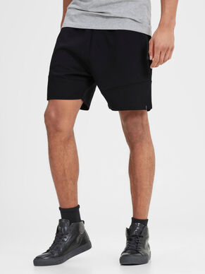 DETAILED SWEAT SHORTS