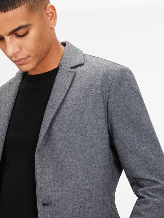 DE PUNTO BLAZER, Dark Grey, large