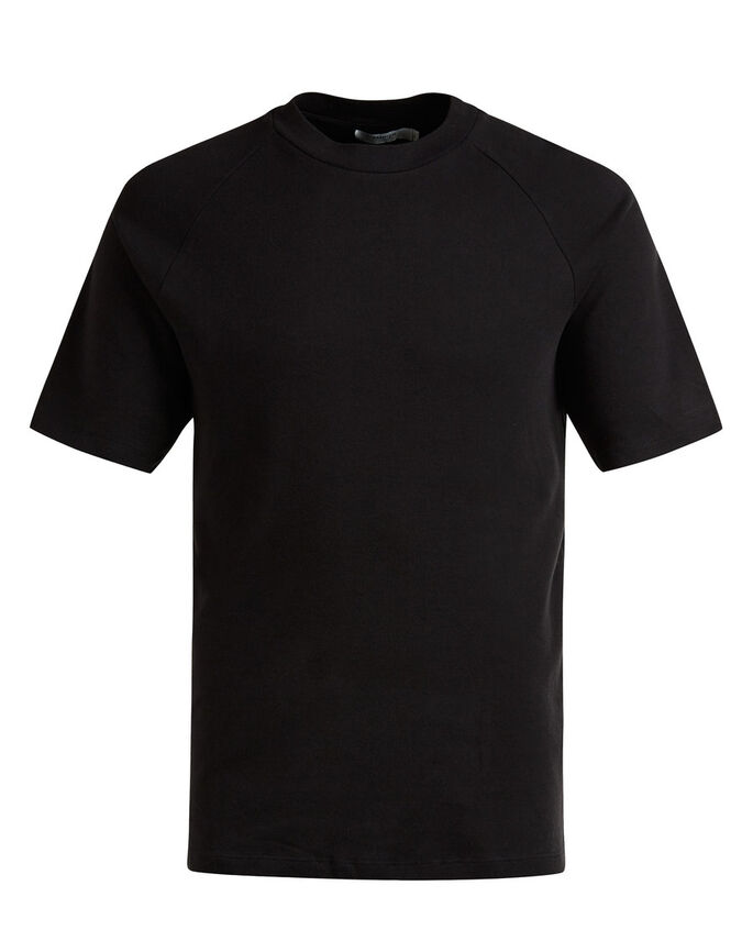 SCHLICHTES T-SHIRT, Black, large