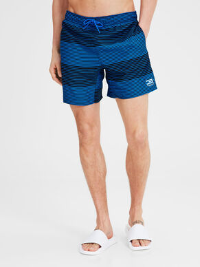STRIBEDE BADESHORTS