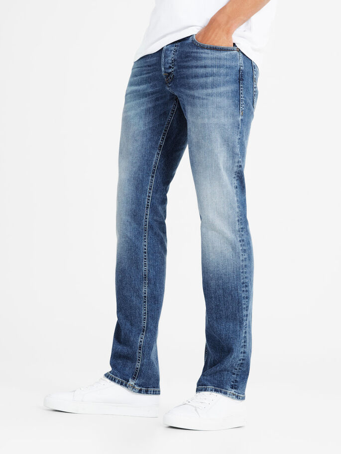 BLÅ DENIM REGULAR FIT JEANS, Blue Denim, large