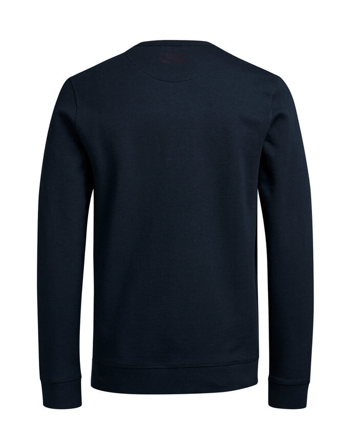 DÉCONTRACTÉ SWEAT-SHIRT, Navy Blazer, large