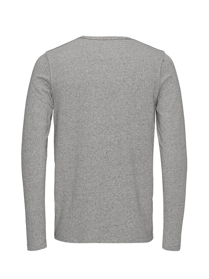 MÉLANGE SUDADERA, Light Grey Melange, large