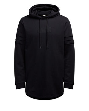 LONGER LENGTH HOODIE