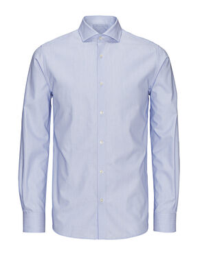 PATTERNED DOBBY WEAVE BUSINESS SHIRT