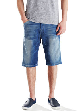 TRISTAN BL 262 LONG DENIM SHORTS