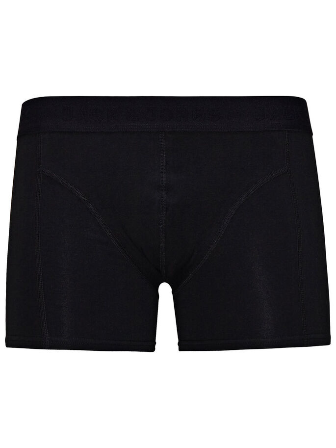 BASIC BLACK BOXERSHORTS, Black, large