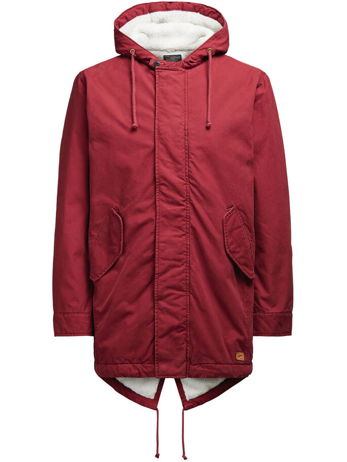 WARME PARKA, Syrah, large