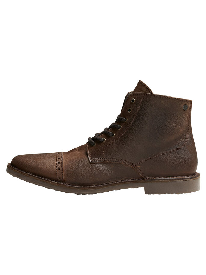 CUIR CHAUD BOTTES, Brown Stone, large