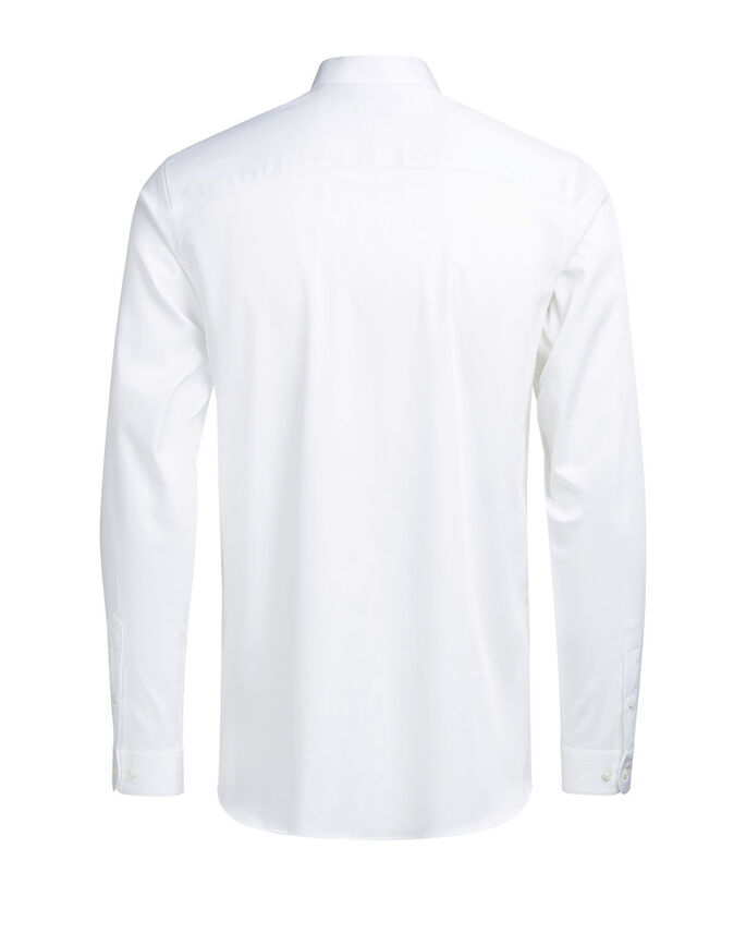 SMOKING OVERHEMD MET LANGE MOUWEN, White, large