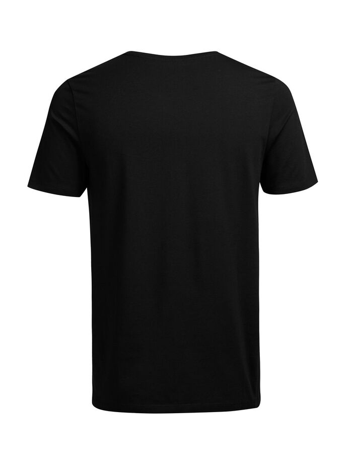 KVALITET T-SKJORTE, Black, large