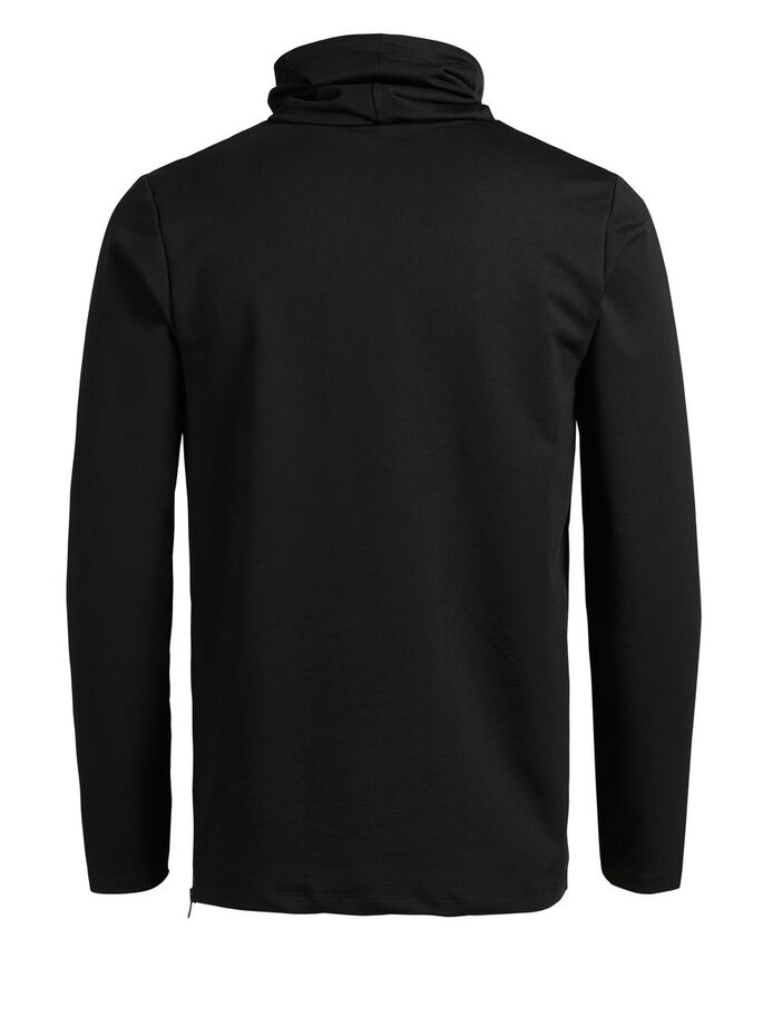 SPORTS INSPIRED SWEATSHIRT, Black, large