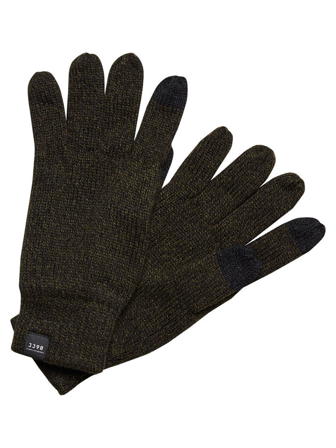 CLASSIC GLOVES, Black, large