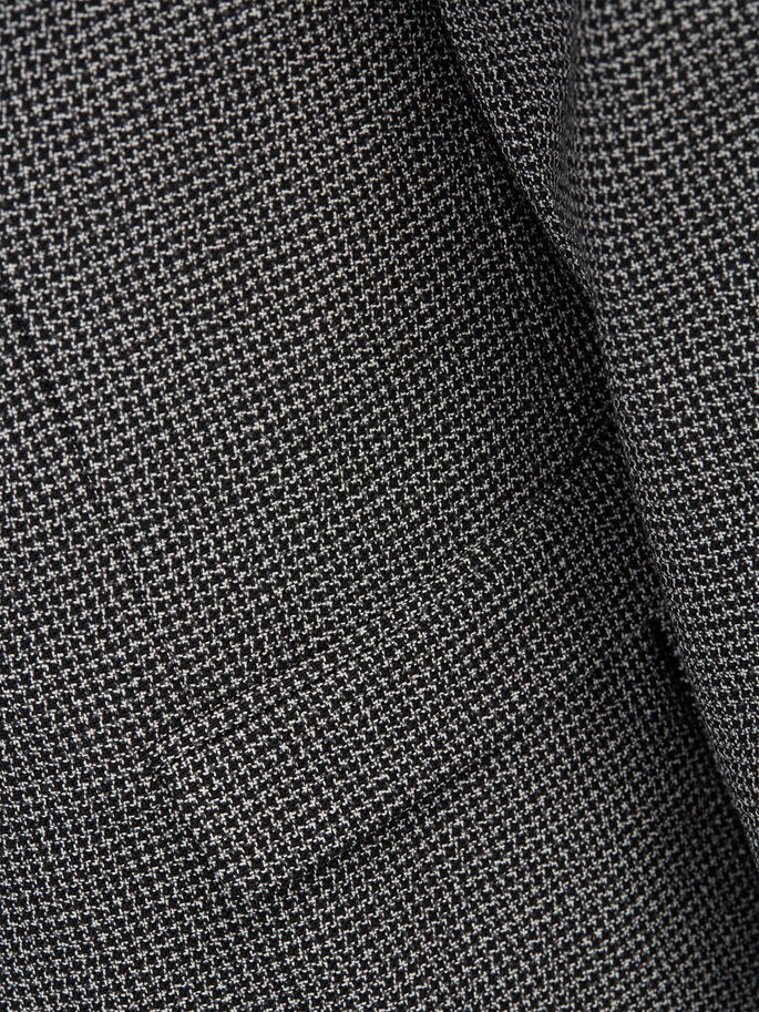 WOOL HOUNDSTOOTH BLAZER, Dark Navy, large