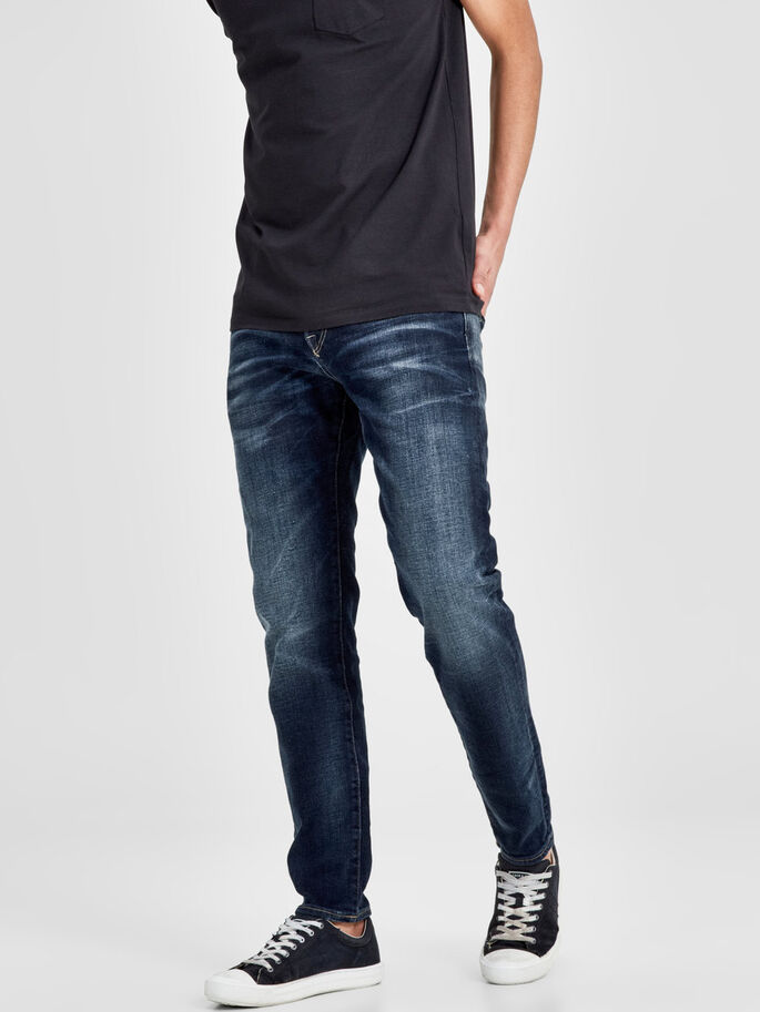 MIKE ICON BL 650 COMFORT FIT JEANS, Blue Denim, large