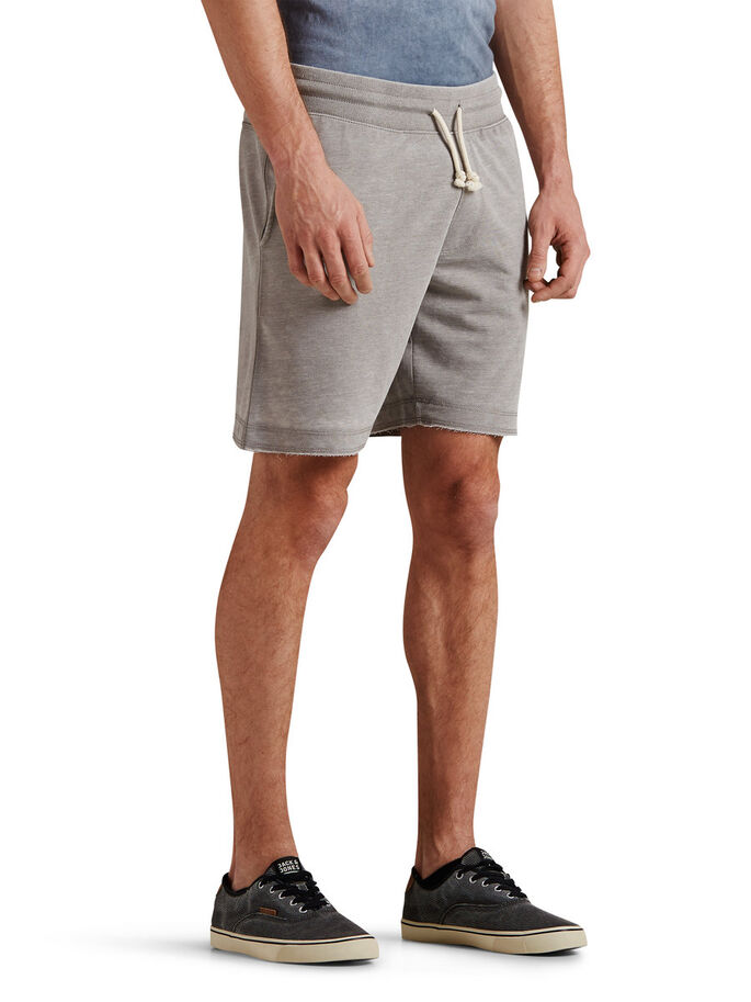 RUGGED SWEAT SHORTS, Griffin, large