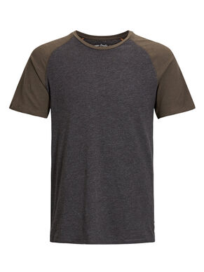 TWO-TONE RAGLAN T-SHIRT
