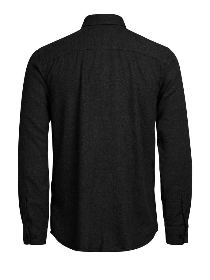 BUTTON-DOWN CASUAL OVERHEMD, Black, large