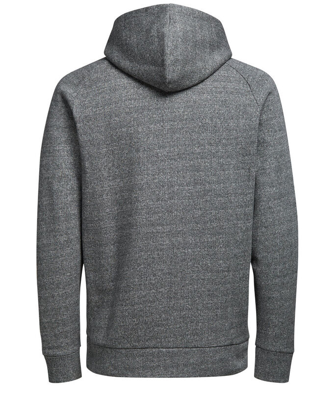 TON-IN-TON- HOODIE, Light Grey Melange, large