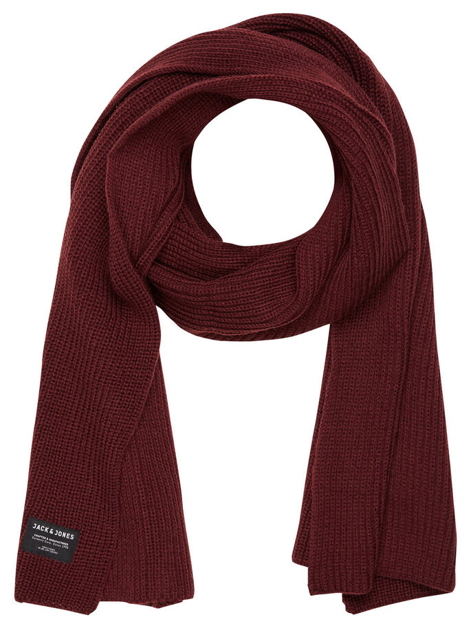 KNITTED SCARF, Port Royale, large